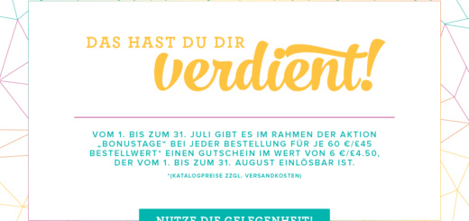 Bonustage 2017, Stampin´UP